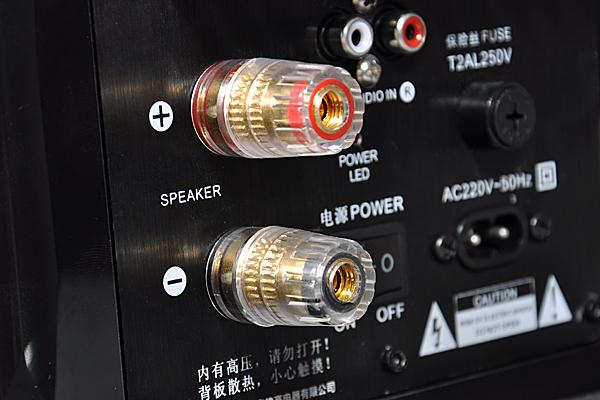 高档hi-fi专用水晶头镀金接线柱